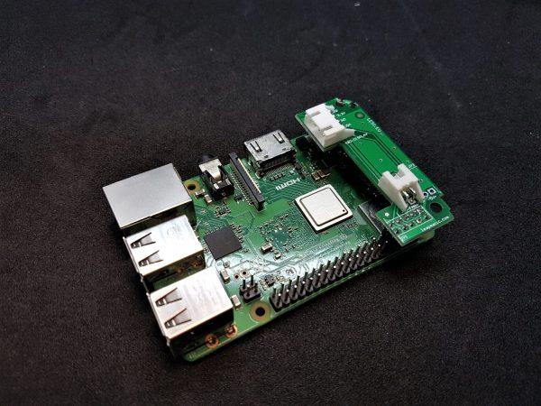 HATL02FP Автоматичен контрол на вентилатора за Raspberry Pi с I2C, 3,3V, 5V, UART пинове за Raspberry Pi LeapMatic MaticControl