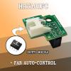 HATL01FC Автоматичен контрол на вентилатора за Raspberry Pi и Крипто чип за Raspberry Pi LeapMatic MaticControl