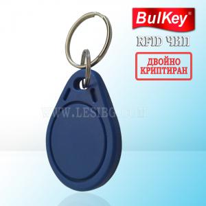 ДВОЙНО-КРИПТИРАНИ Безконтактни RFID електронни ключове тип ТАГ Lesi2