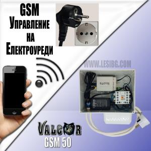 GSM модул за безплатно управление на уреди PWRU_GSM50