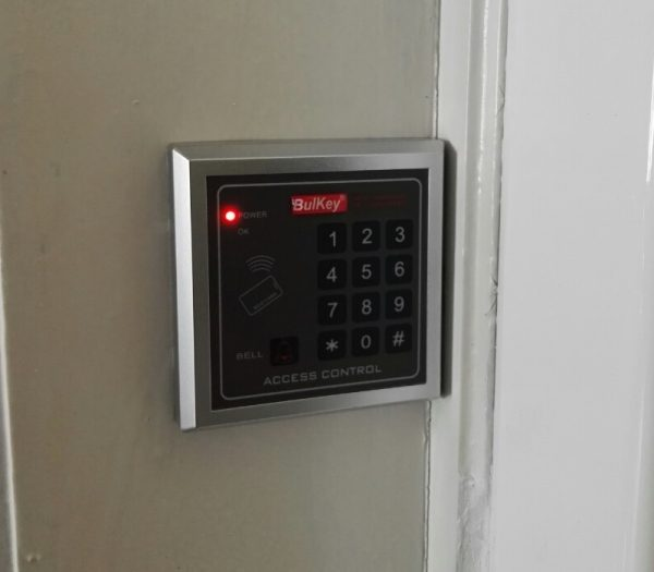 Клавиатура за контрол на достъп с код и RFID чип - BAC314